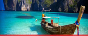 4 Days 3 Nights Khai Island or Phi Phi Island or James Bond Island {Super Package}