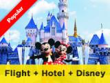 4D3N Hong Kong Free & Easy by Cathay Pacific + Disneyland pass