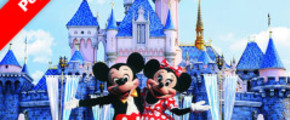 4D3N Hong Kong Free & Easy by Cathay Pacific + Disneyland pass
