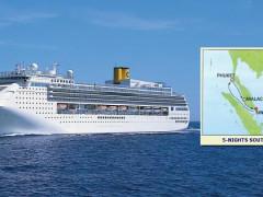 Costa Cruises - 5N Southeast Asia Cruise (2017 Sailings)