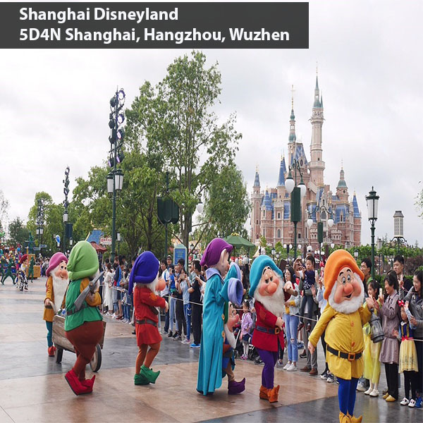 5 Days Shanghai Disneyland From Giamso Tours