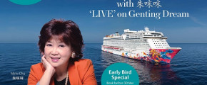 Genting Dream 3D2N Mimi Chu's Concert Cruise (11 May 2018)