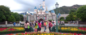 3D Hong Kong + Disneyland ONE Day Pass Ticket Only