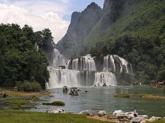 6 Days Hanoi – Ba Be Lake – Ban Gico Waterfall – Halong Bay {Daily Departure}