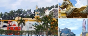 6D5N E-DA World Theme Park & Trip of Top Villas and Motels