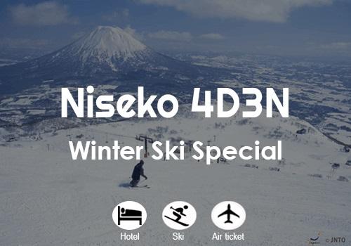 Niseko Ski Special 4D3N