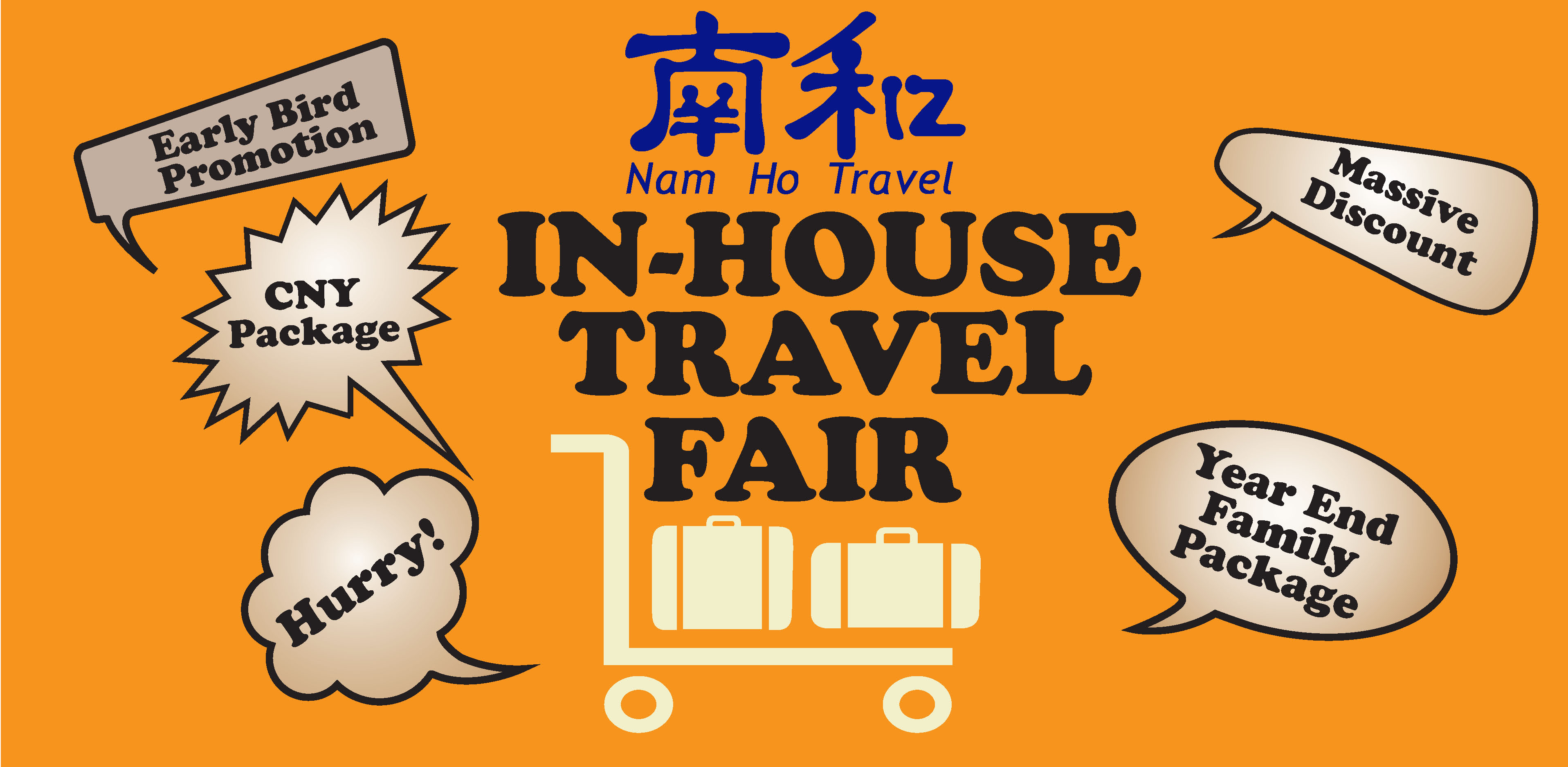 Nam Ho Travel In-House Travel Fair