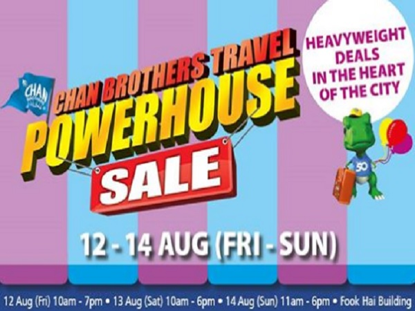 Chan Brothers Travel Powerhouse Sale