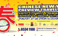 CS Travel - Chinese New Year Preview Travel Fair