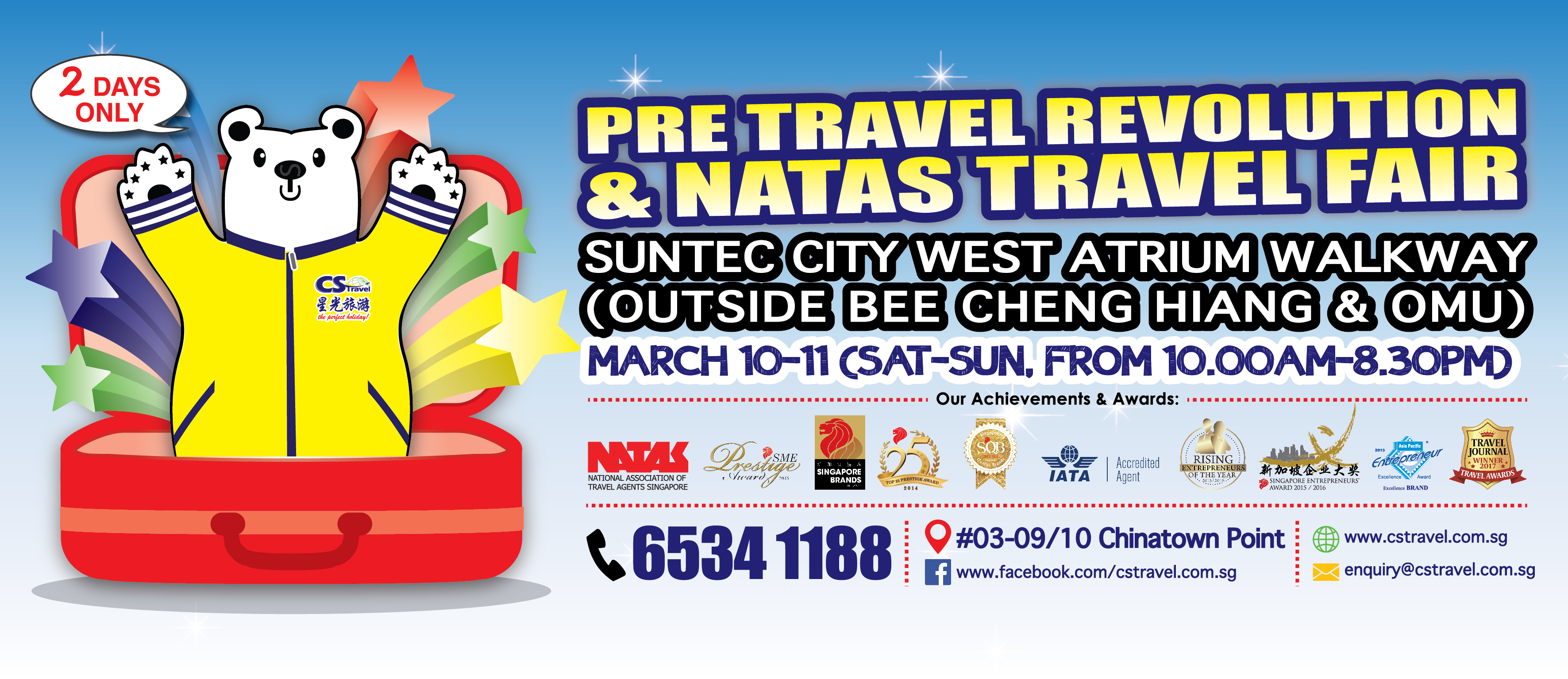 CS Travel - Pre Travel Revolution & Natas Travel Fair