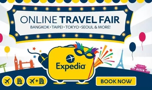 Expedia Online Travel Fair