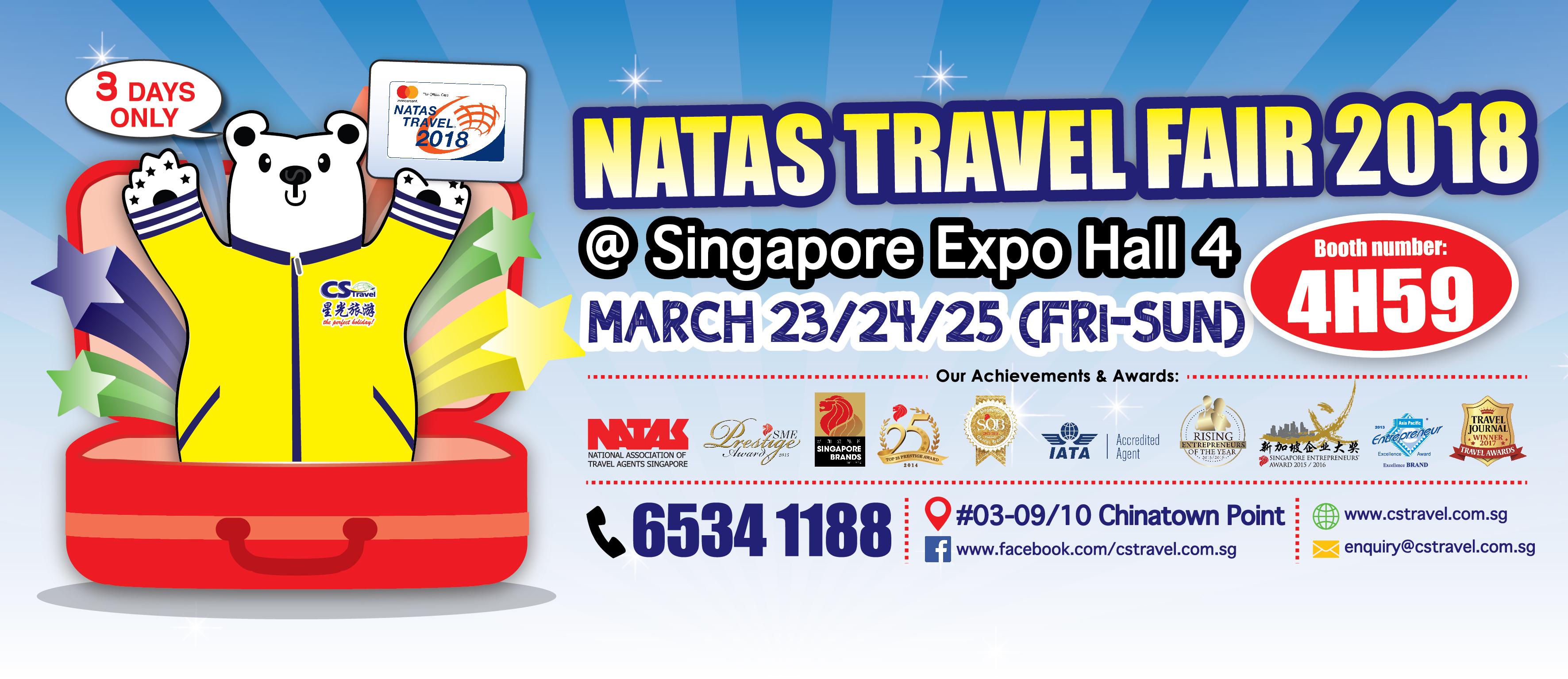 CS Travel - NATAS Travel Fair March 2018