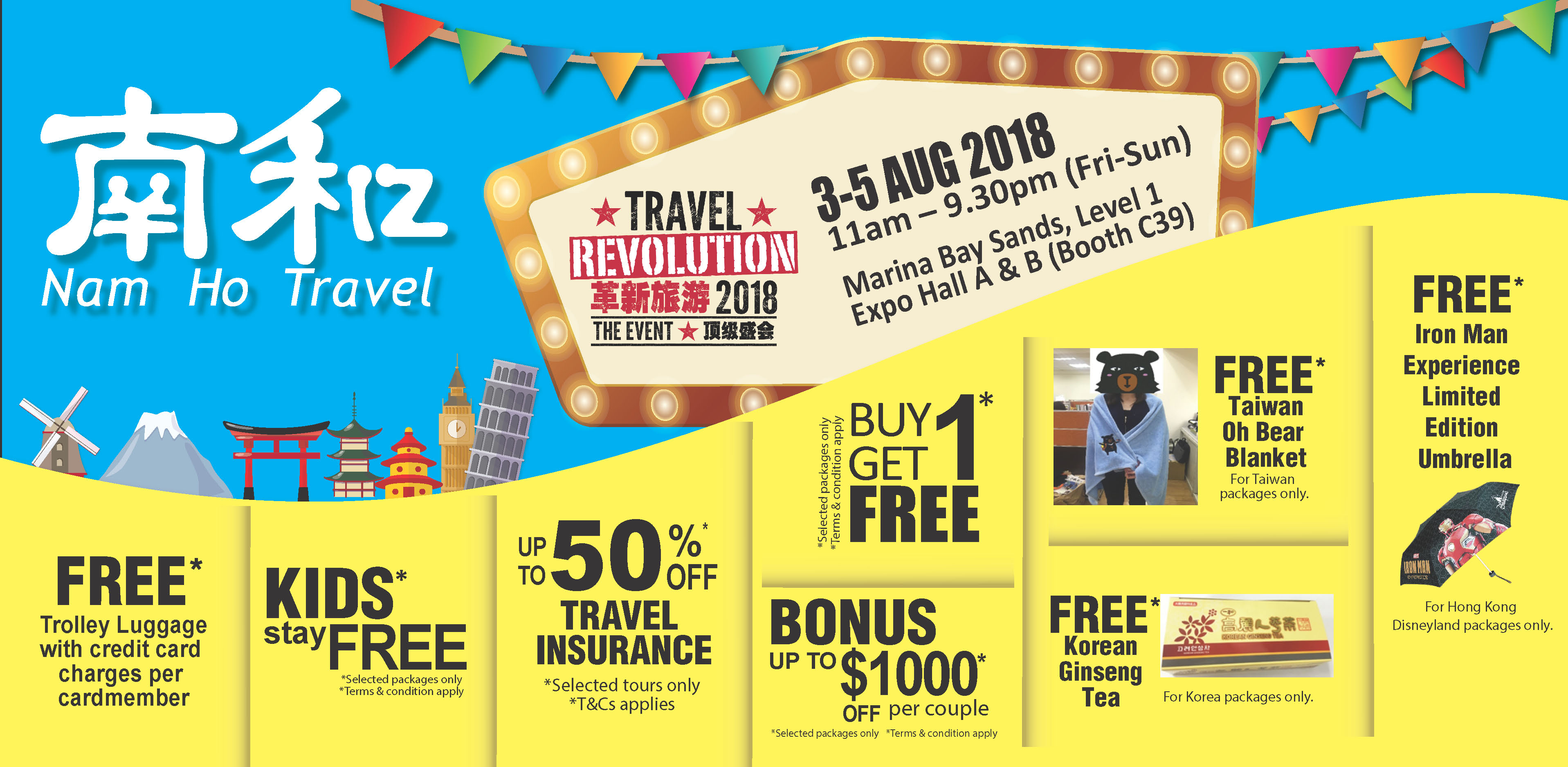 Nam Ho Travel - Travel Revolution August 2018