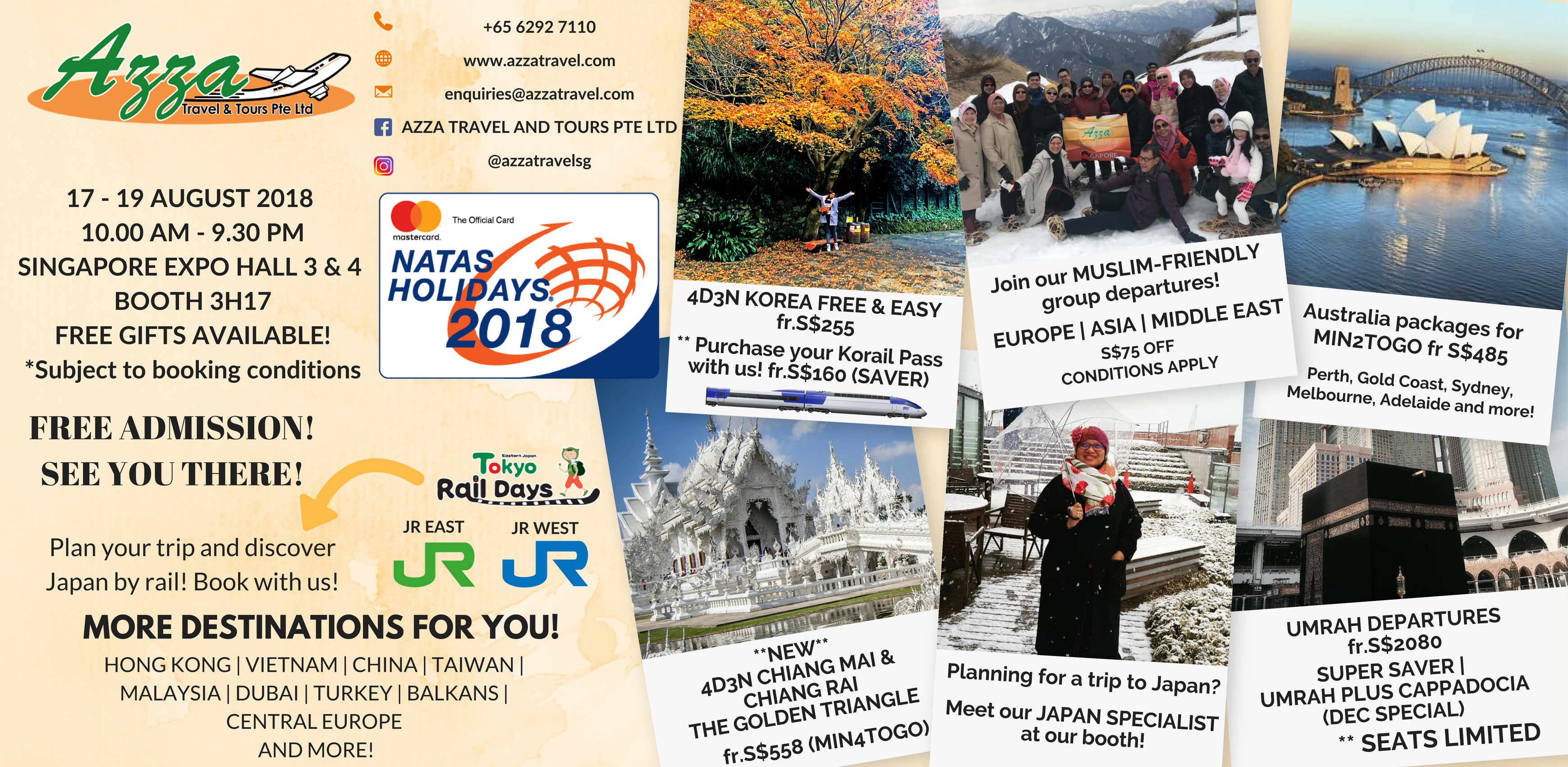 Azza Travel - NATAS August 2018