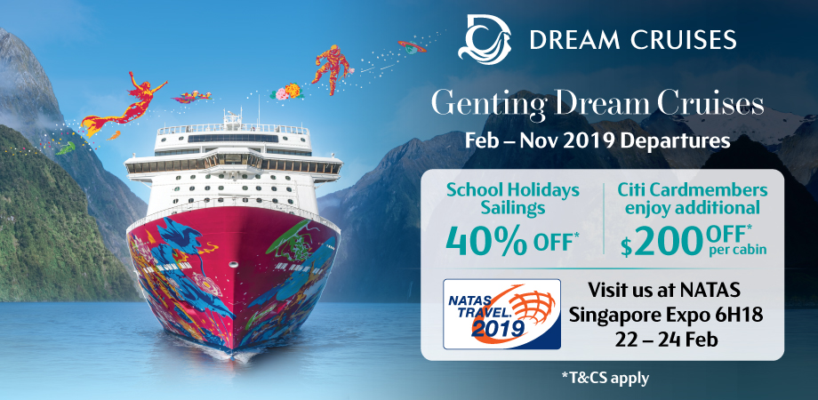 Dream Cruises - NATAS February 2019