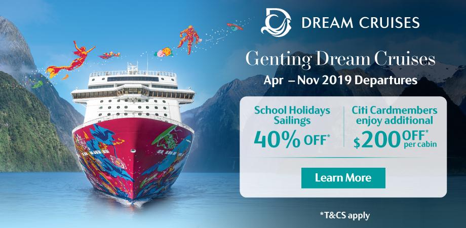 Dream Cruises - Travel Revolution March 2019