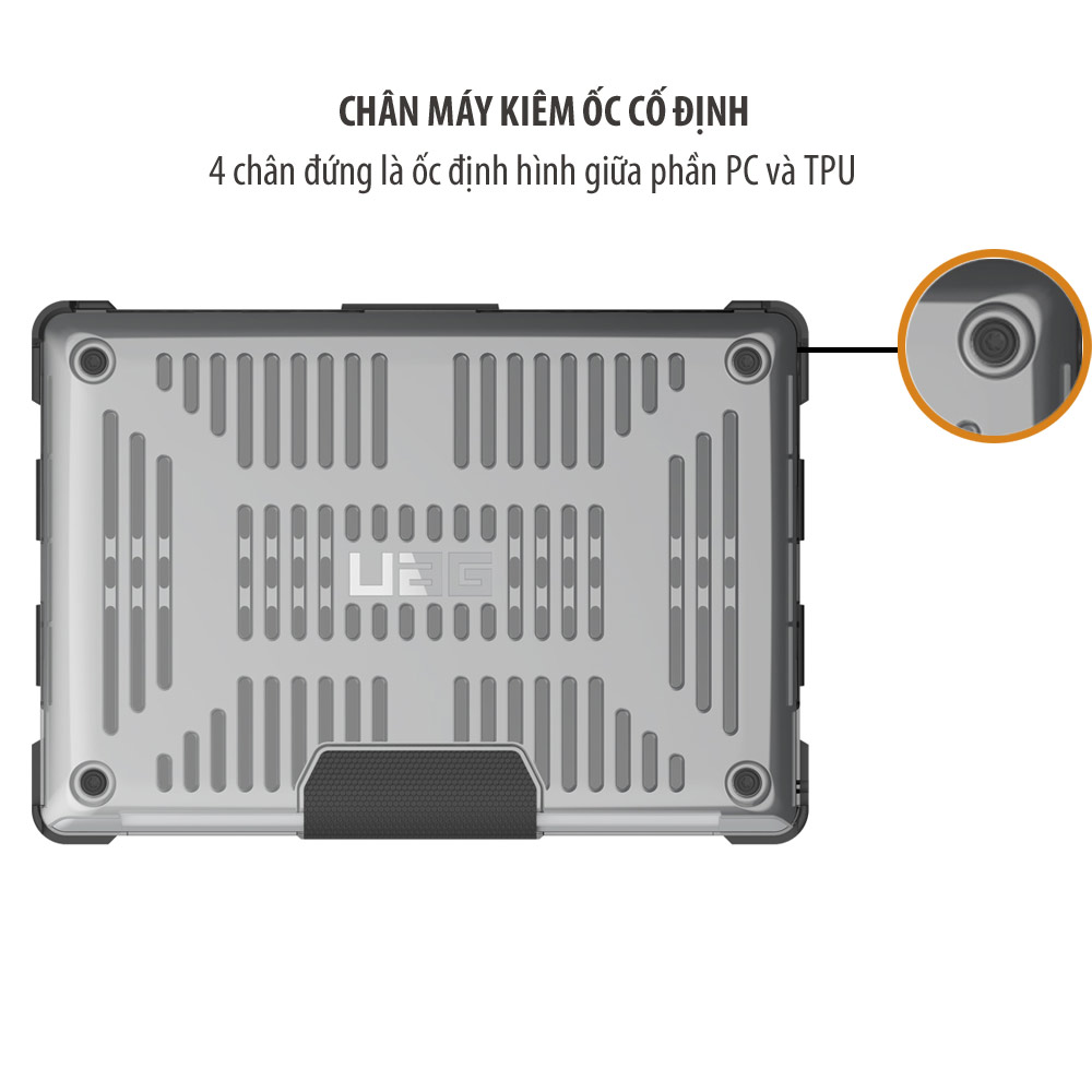 Op lung UAG MacBook Pro 15 4th Genration with Touch Bar