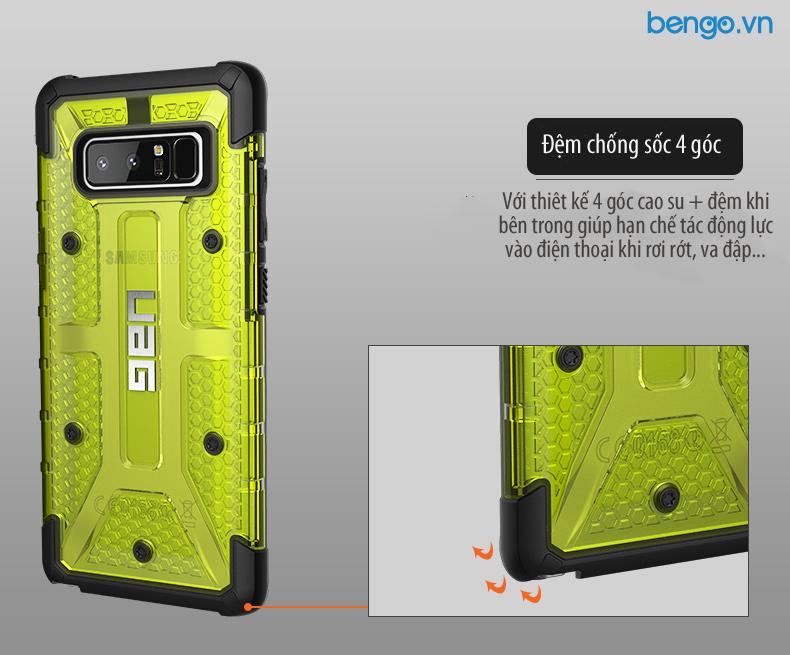 Op lung UAG Samsung Galaxy Note 8 bao ve 4 goc Plasma bengovn 1