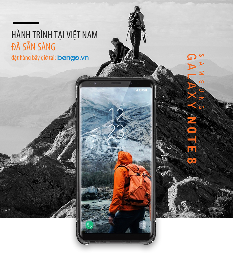 Op lung UAG Samsung Galaxy Note 8 bengovn 1