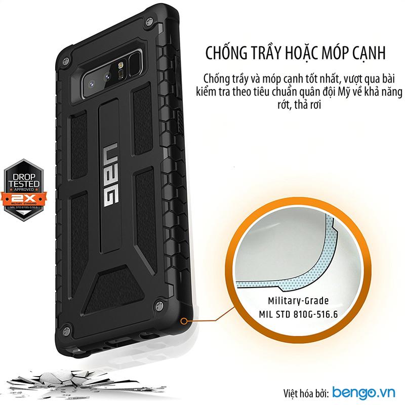 Op lung Samsung Galaxy Note 8 Monarch cao cap xu tu My voi tieu chuan quan doi. San pham ban tai Bengo.vn