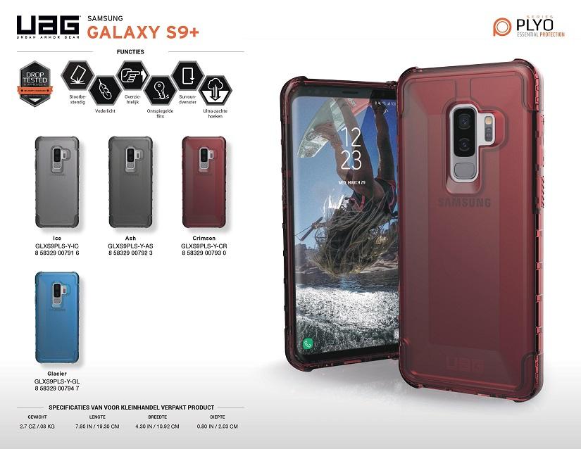 ốp lưng Samsung S9 Plus UAG PLYO