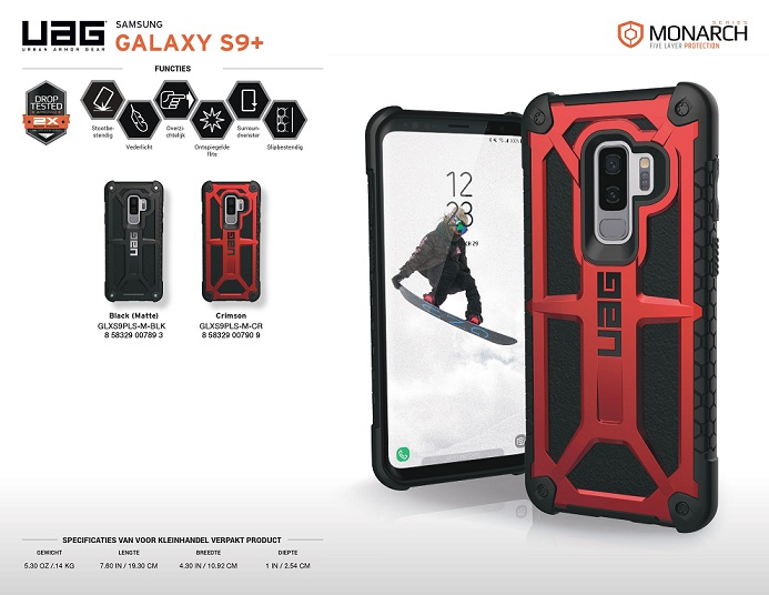 Ốp lưng Samsung S9 Plus UAG Monarch