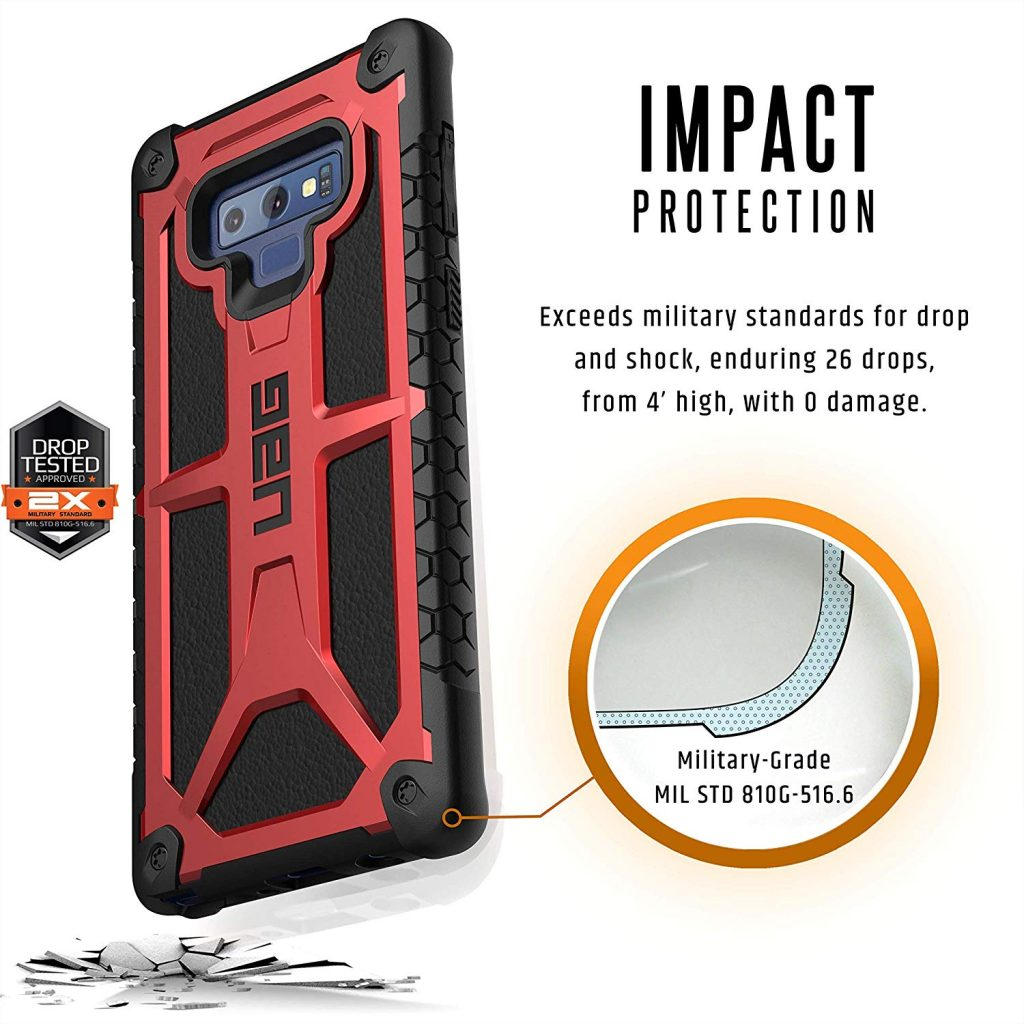 op lung note 9 uag monarch