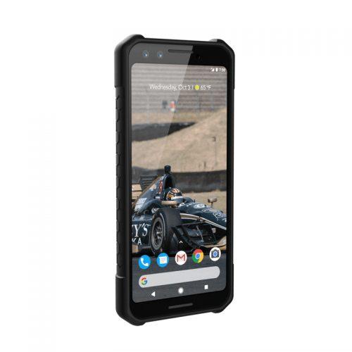 Op lung Google Pixel 3 UAG MONARCH Series Black 03 bengovn