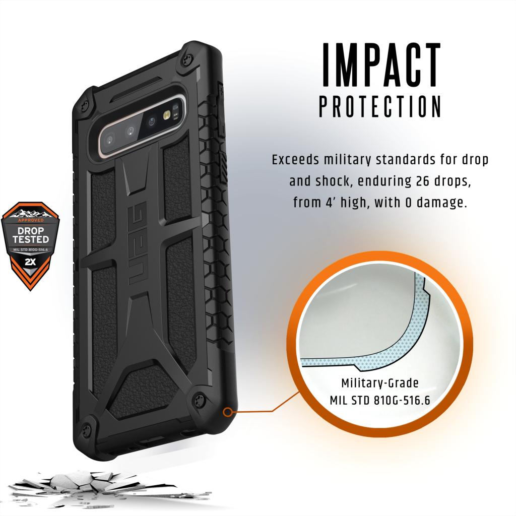 Samsung Galaxy S10 Monarch BLK 03 PRM IMPACT