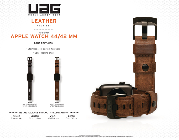 Day deo Apple Watch 42mm 44mm UAG Leather 09 bengovn