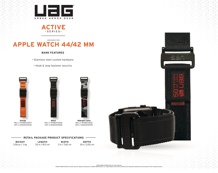 Day deo Apple Watch 42mm 44mm UAG Active 14 bengovn