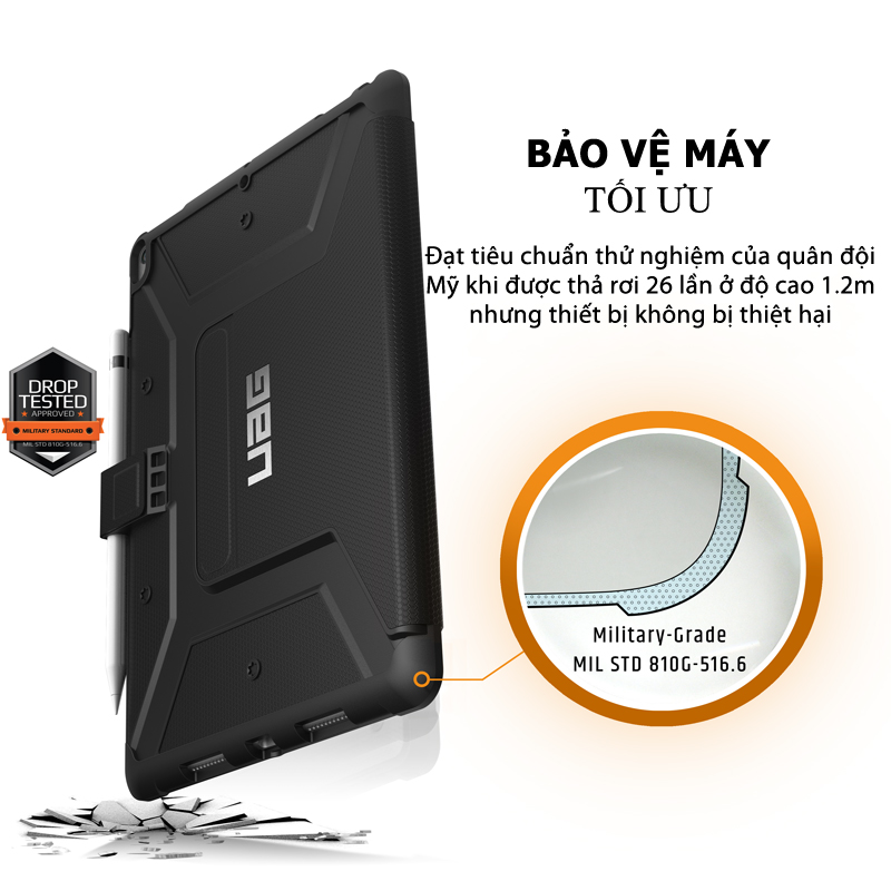 Bao da iPad Air 10 5 2019 UAG Metropolis 05 bengovn