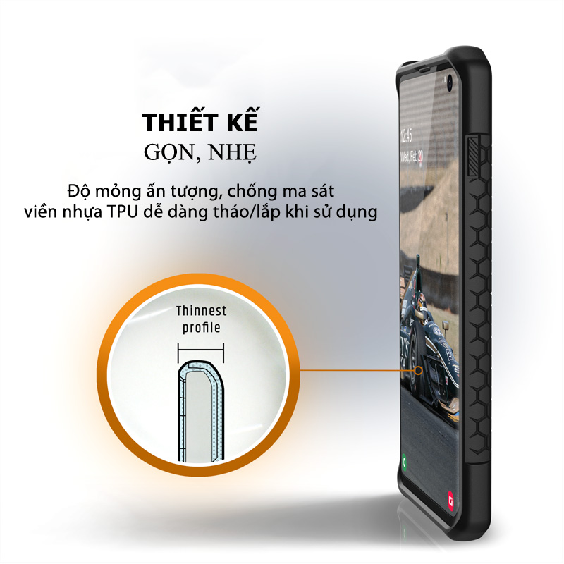Op lung Samsung Galaxy S10 Plus UAG Monarch Series 02 bengovn