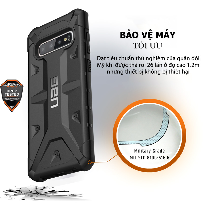 Op lung Samsung Galaxy S10 Plus UAG Pathfinder Series 03 bengovn