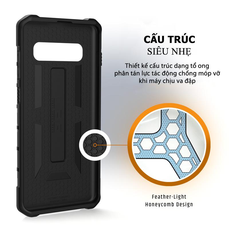 Op lung Samsung Galaxy S10 Plus UAG Pathfinder Series 02 bengovn