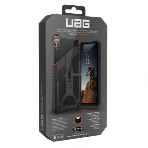 Op lung Samsung Galaxy S10e UAG Monarch Series Black 08 bengovn