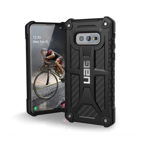 Op lung Samsung Galaxy S10e UAG Monarch Series Carbon Fiber 01 bengovn