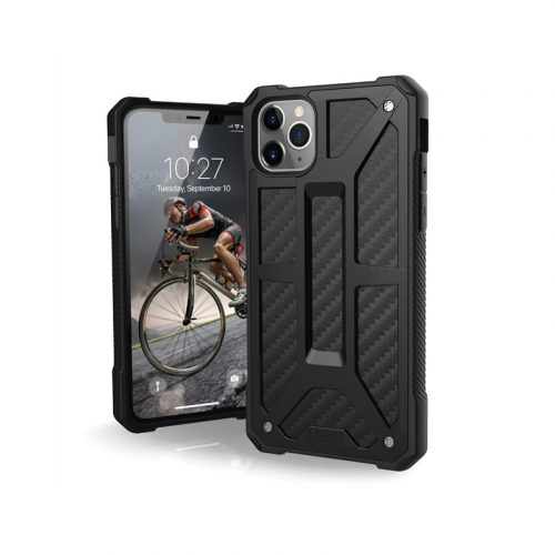 Op lung iPhone 11 Pro Max UAG Monarch Series CARBON FIBER 01 bengovn