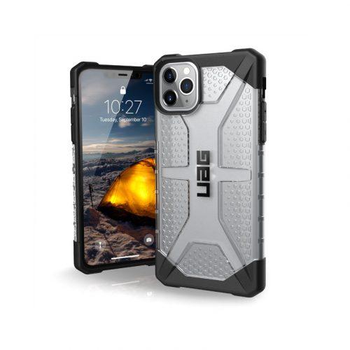 Op lung iPhone 11 Pro Max UAG Plasma Series Ice 01 bengovn