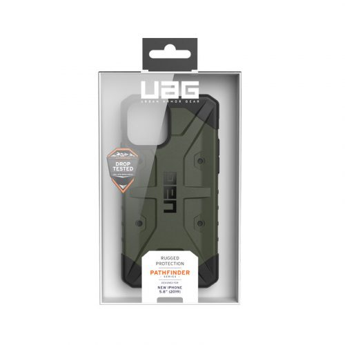 Op lung iPhone 11 Pro Max UAG Pathfinder Series Olive Drab 07 bengovn
