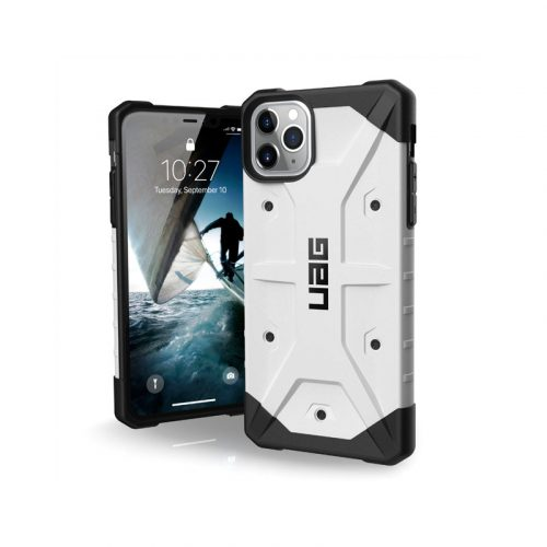 Op lung iPhone 11 Pro Max UAG Pathfinder Series White 01 bengovn