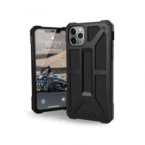 Op lung iPhone 11 Pro UAG Monarch Series Black 01 bengovn