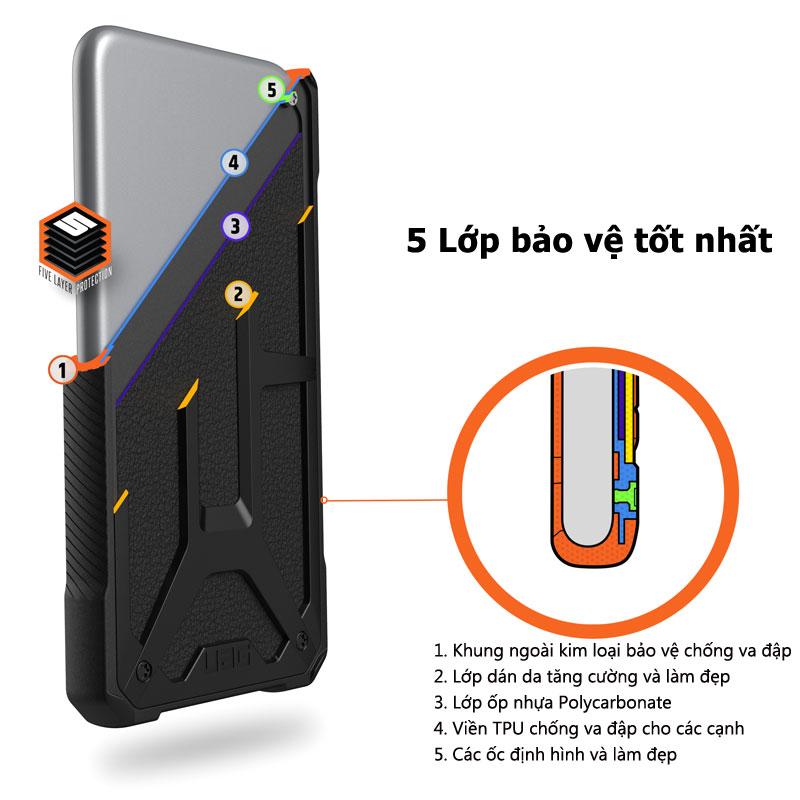 Op lung iPhone 11 UAG Monarch Series CRIMSON 08 bengovn