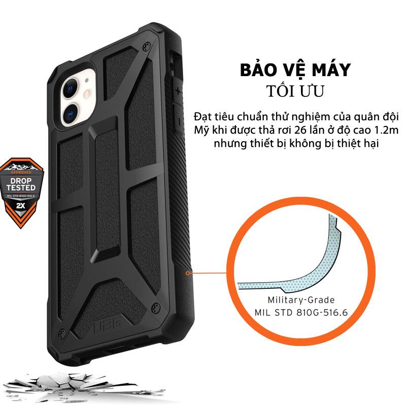 Op lung iPhone 11 UAG Monarch Series CRIMSON 09 bengovn