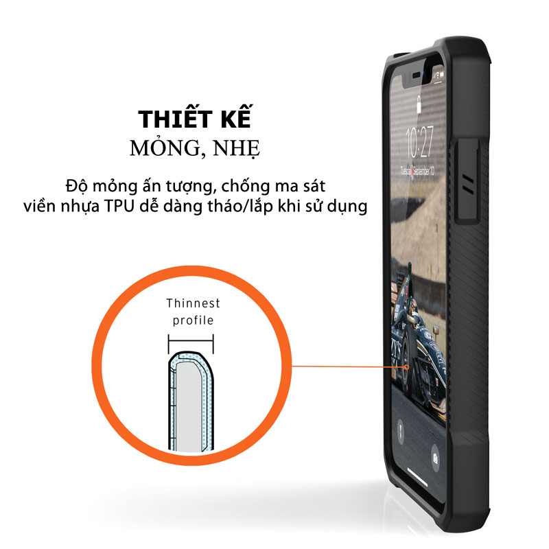 Op lung iPhone 11 UAG Monarch Series CRIMSON 10 bengovn