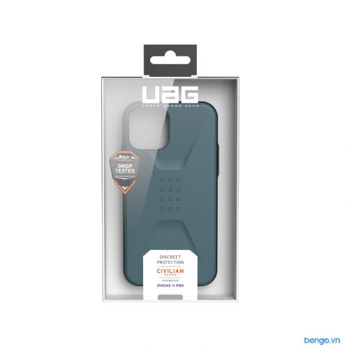 Op lung iPhone 11 Pro UAG Civilian Series Slate 07 bengovn