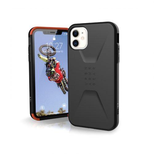 Op lung iPhone 11 UAG Civilian Series Black 01 bengovn