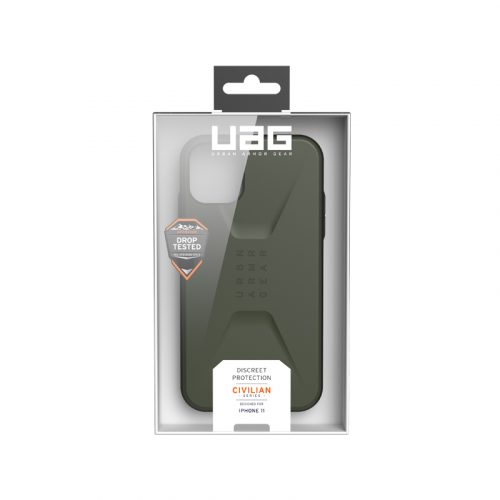 Op lung iPhone 11 UAG Civilian Series Olive Drab 07 bengovn