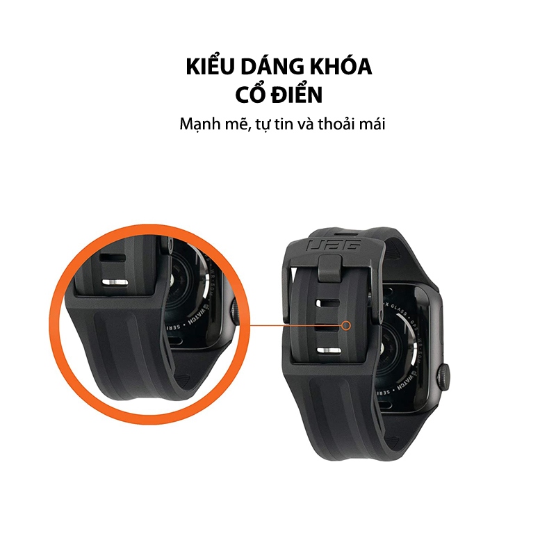 Day deo Apple Watch 42mm 44mm UAG Scout Silicone 18 bengovn