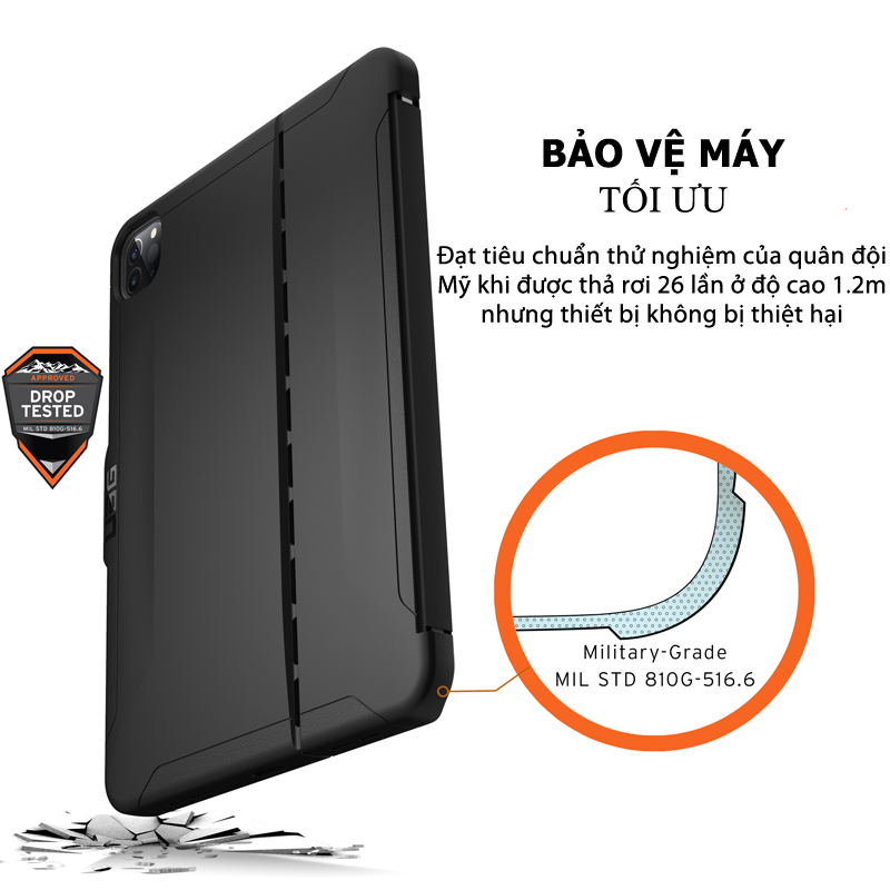 Op lung iPad Pro 12 9 4th Gen 2020 UAG Scout Series 17 bengovn